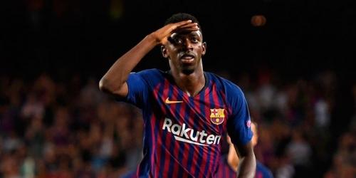 (OFICIAL) Dembélé recibió el alta médica para mañana