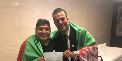 (OFICIAL) Diego Maradona cambia Dubai por Bielorrusia