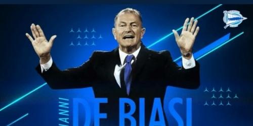 (OFICIAL) El Alavés oficializa a De Biasi como su nuevo técnico