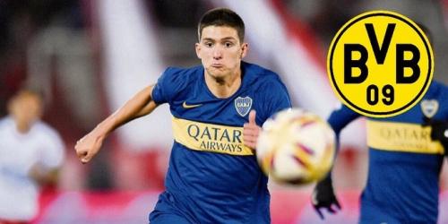 (OFICIAL) El Dortmund ficha a un juvenil de Boca Juniors