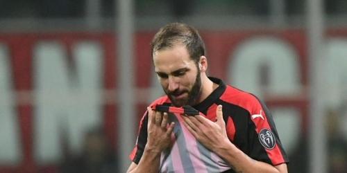 (OFICIAL) El Milán ya tiene el reemplazo de Higuaín