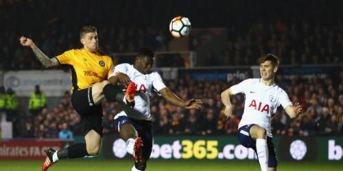 (OFICIAL) El Tottenham empató frente al Newport County por la FA Cup