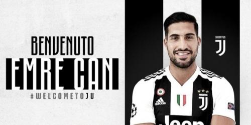 (OFICIAL) Emre Can a la Juventus