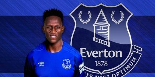 (OFICIAL) Everton ficha al colombiano Yerry Mina