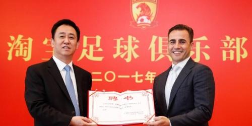 (OFICIAL) Fabio Cannavaro será DT del Guangzhou Evergrande
