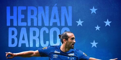 (OFICIAL) Hernán Barcos al Cruzeiro