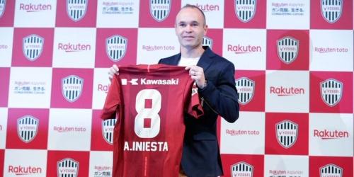 (OFICIAL) Iniesta presentado como nuevo jugador del Vissel Kobe