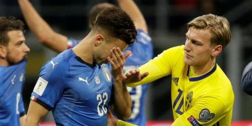 (OFICIAL) Italia afuera de la Copa del Mundo tras 60 años