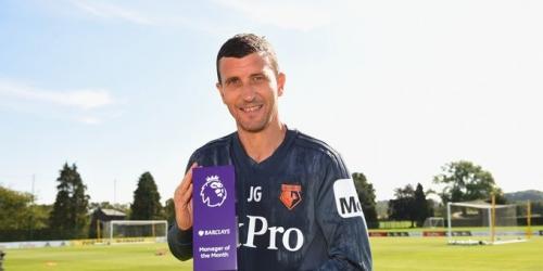 (OFICIAL) Javi Gracia elegido el mejor entrenador de la Premier League