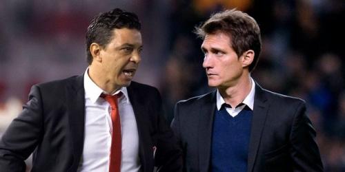 (OFICIAL) La Conmebol suspendió a los entrenadores de River y Boca