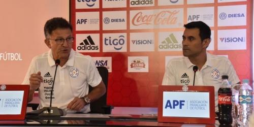 (OFICIAL) La primera convocatoria de Osorio en Paraguay