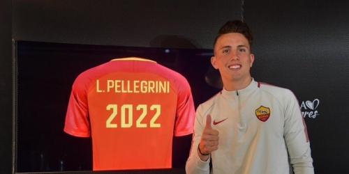 (OFICIAL) Luca Pellegrini renueva con la Roma