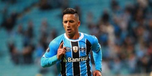 (OFICIAL) Lucas Barrios no sigue más en Gremio