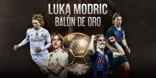 (OFICIAL) Luka Modric es el nuevo balón de oro