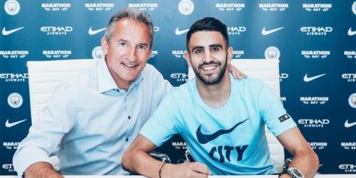 (OFICIAL) Manchester City contrata a Mahrez