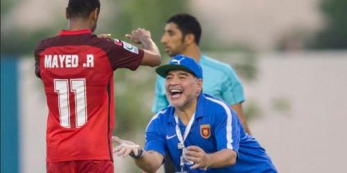 (OFICIAL) Maradona debutó con victoria en la copa de los Emiratos Árabes
