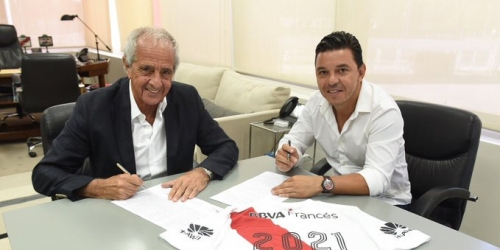 (OFICIAL) Marcelo Gallardo renovó con River Plate hasta 2021
