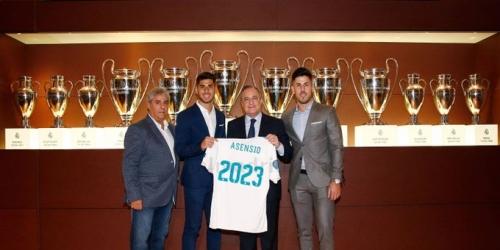 (OFICIAL) Marco Asensio renueva con el Real Madrid
