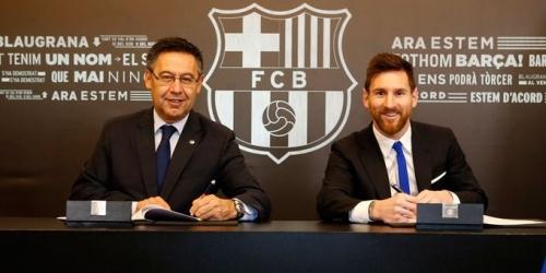 (OFICIAL) Messi confirma su estadía en el FC Barcelona hasta 2021