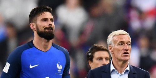 (OFICIAL) Olivier Giroud será baja frente Alemania por una lesión