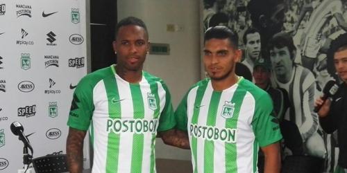 (OFICIAL) Reinaldo Lenis y Rafael Delgado son nuevos jugadores de Atlético Nacional