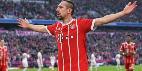 (OFICIAL) Ribery renueva un año con el Bayern