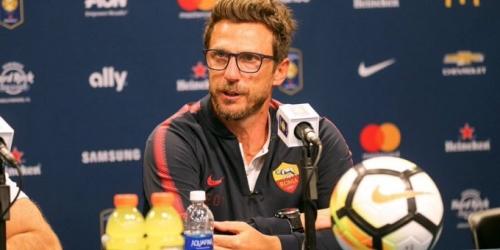 (OFICIAL) Roma renueva su contrato con su director técnico Eusebio Di Francesco