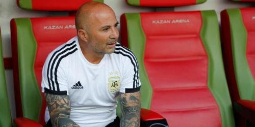 (OFICIAL) Sampaoli acordó su salida de la Selección Argentina