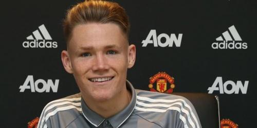 (OFICIAL) Scott McTominay renueva con el Manchester United