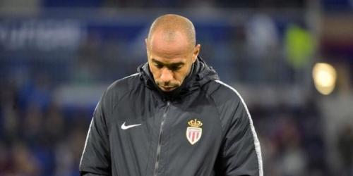 (OFICIAL) Thierry Henry despedido del Mónaco