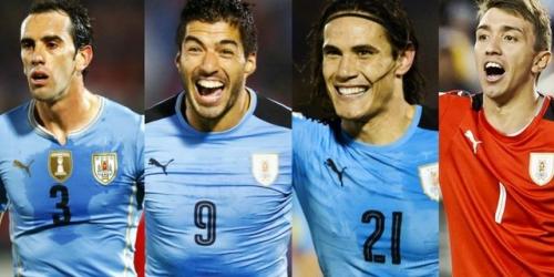 (OFICIAL) Uruguay presenta su lista de convocados para sellar su boleto a Rusia