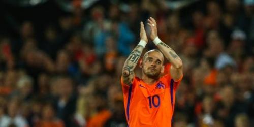 (OFICIAL) Wesley Sneijder se retira de la selección holandesa