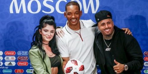 (VIDEO) Will Smith y Nicky Jam cantarán en la clausura del Mundial