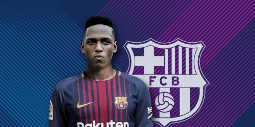 (OFICIAL) Yerry Mina es nuevo jugador del Barcelona de España
