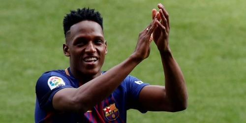 (OFICIAL) Yerry Mina llevará el dorsal 24 en el FC Barcelona