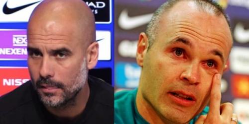 """Pep Guardiola: """"Iniesta me ha ayudado a entender mejor el fútbol"""""""