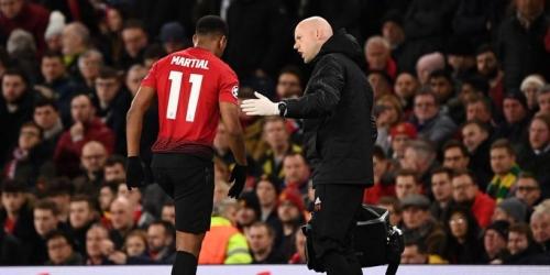 Preocupación en Manchester United para la revancha con el PSG por la Liga de Campeones