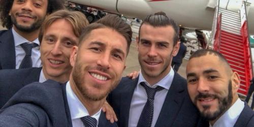 Real Madrid emprende vuelo hacia el Mundial de Clubes