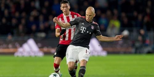 Robben no volverá a jugar hasta el próximo año