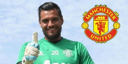 (OFICIAL) Romero renueva con el Manchester United hasta el 2021