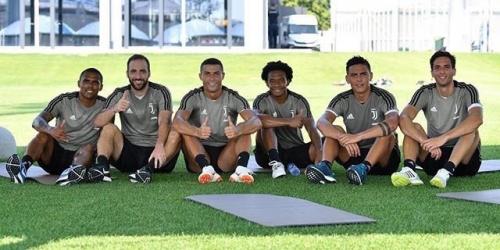 Ronaldo realiza su primer entrenamiento con la Juventus
