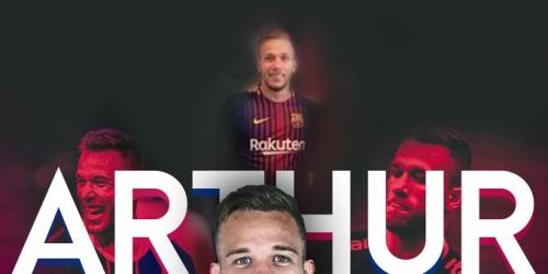 (RUMOR) Arthur Melo ya sería jugador del Barça