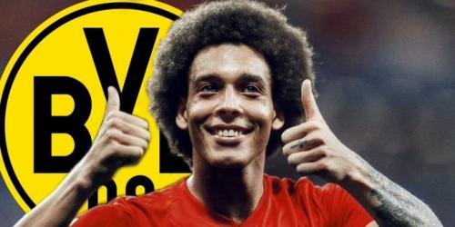 (RUMOR) Axel Witsel muy cerca de convertirse en nuevo jugador del Borussia Dortmund