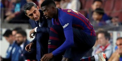 (RUMOR) El Barcelona estudia una venta de Dembelé en Enero