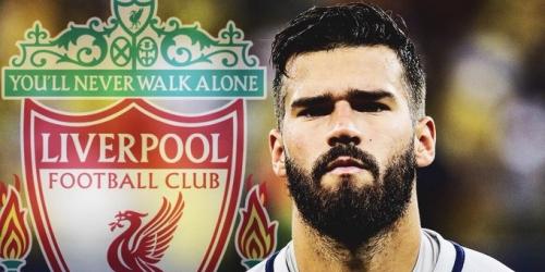 (RUMOR) Millonaria oferta del Liverpool por Alisson