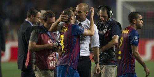 (RUMOR) Pep Guardiola quiere a Andrés Iniesta en el Manchester City