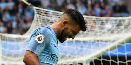 Sergio Agüero es duda para la Champions