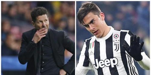 """Simeone: """" Me encontré a Dybala y le dije que es un gran futbolista, sin más"""""""