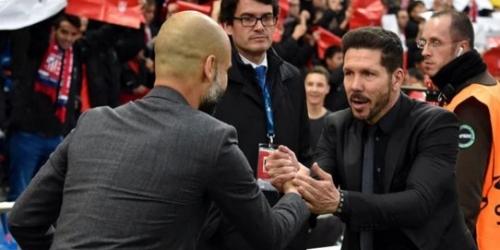 """Simeone opina sobre el estilo de Guardiola: """"No me gusta, lo siento"""""""