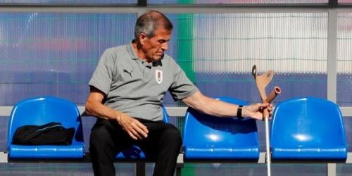 Tabarez no estará con Uruguay frente a amistoso con México
